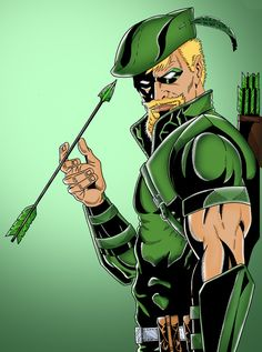 Green Arrow by Gustavo Henrique Rodrigues https://www.behance.net/GustavoH7
