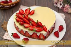 No Bake Desserts, Delicious Desserts, Dessert Recipes, Yummy Food, Cheesecake Cake, Cheesecake Recipes, Chess Cake, Raspberry Coffee Cakes, Valentines Day Cakes