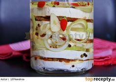 Nakládaný hermelín se sušenými rajčaty Kefir, Brie, Preserves, Pickles, Camembert Cheese, Pudding, Cooking, Kitchen, Desserts