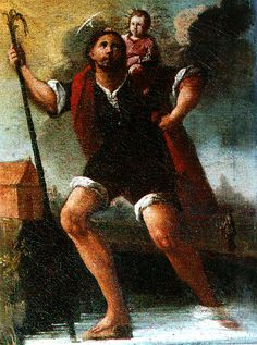 Cat‡logo de pinturas: San Cristóbal (Hacia 1775)