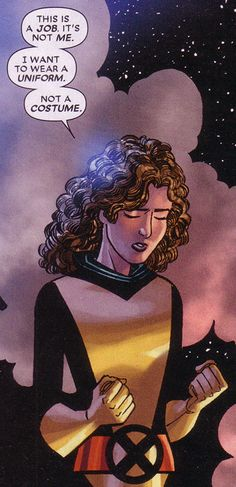 A young Kitty Pryde growing up