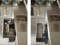Attrezzature interne - Cucine moderne e classiche con proposte salva spazio per arredare la cucina