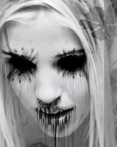 """""""for she shall see beauty nevermore"""".""""for she shall see beauty nevermore"""". Dark Art Illustrations, Dark Art Drawings, Horror Pictures, Creepy Pictures, Arte Horror, Horror Art, Dark Art Photography, Satanic Art, Evil Art"""