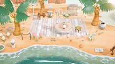 Animal Crossing Leaf, Animal Crossing Guide, Animal Crossing Villagers, Motifs Animal, Path Design, Island Design, Animal Games, New Leaf, Paths