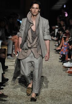 Haider Ackermann Presents First Menswear Collection Alongside Women's Resort at Pitti in Florence