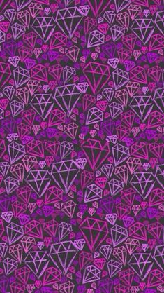 Purple diamond hand-painted background iPhone 5s wallpaper