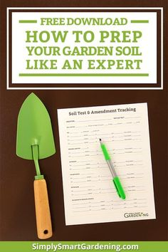 Confused about how to prepare your garden soil? Follow my step-by-step instructions for preparing your soil for planting. Discover the three steps you can take right now to improve your garden soil. You'll learn how to test your soil, identify your soil t
