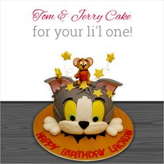 The little angel in your life has his/her birthday and this Tom & Jerry cake will definitely bring a bright smile on his/her face. Order this yummilicious #cake for the special day and see your child jump with joy! http://www.fnp.com/hammering-tom-&-jerry-genpr-520745-e.html #fernsnpetals