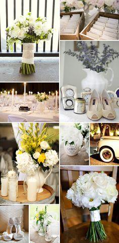 Ideas para bodas en blanco