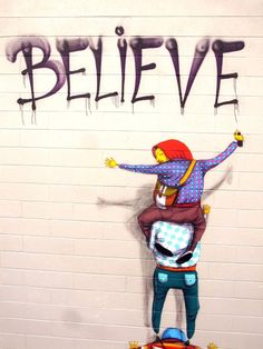 believe by Os gêmeos