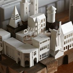 Artist Builds a Working Miniature City Using Only Paper. #365project #papercraft