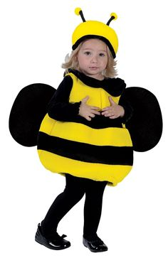 This bumblebee baby costume is easy for crawlers and early walkers to move in  sc 1 st  Pinterest & Isnu0027t this adorable! Make a cute little bee with this DIY bumble bee ...
