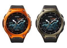 Casio Android Smart Watch Outdoor WSD-F10