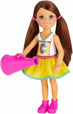 Barbie Chelsea Doll-Cheerleader out 2015!!!!!!!!