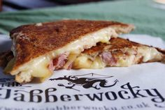 The Jabberwocky takes toasties to a whole new, melty, t-shirt-ruining level. Soul Food, Street Food, Sandwiches, Food And Drink, Homemade, Food Project, News, Shirt, Gourmet