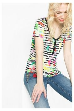 T-shirts & Tops Desigual Maglietta Louise