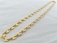 Collana Oro Argento Maglia Marina Unisex Gioielli Uomo Donna I Gioielli di Vicky