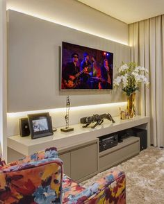 Trendy home theater planejado minimalista Interior Design Living Room, Living Room Designs, Best Home Theater, Living Room Tv, Trendy Home, Home Decor Furniture, Bars For Home, Decoration, New Homes