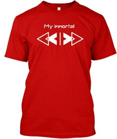 My Immortal Classic Red Kaos Front