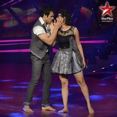 Rithvik and Asha in Nach Baliye 6