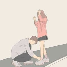 Cute Couple Wallpapers For Mobile - HD Wallpapers Cute Couple Drawings, Cute Couple Cartoon, Cute Couple Art, Anime Couples Drawings, Anime Love Couple, Cute Anime Couples, Cute Drawings, Couple Illustration, Illustration Art