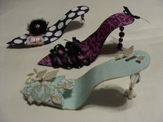 HI everyone! I will be showing you how to make these cute High Heel Shoes on Ustream  for the Your Paper Pantry  Valentine Vir...