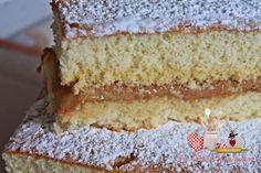 Pão de Ló com doce de Leite condensado - Teretetê na Cozinha