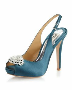 Pretty teal shoes