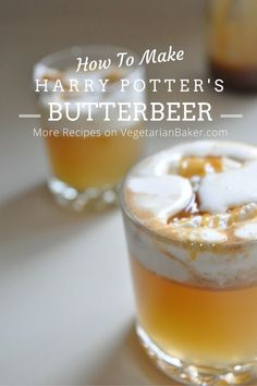 Just like what you imagined they serve at Hogsmeade!