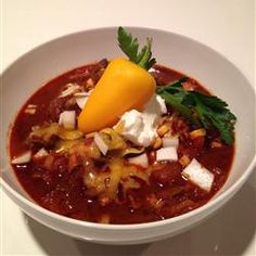 Savory and Extra Hearty Tri-Tip Chili