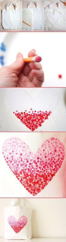 DIY Fabulous Heart Bag