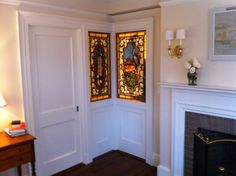 Stained glass for a bedroom