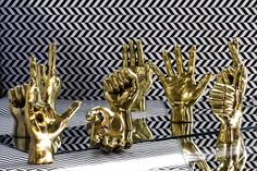 Brass Hand 'Middle Finger' - The Cool Hunter -  The Cool Hunter