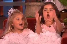 Haha!  I LOVE Sophia Grace And Rosie!!! Sophia Grace ALWAYS is so passionate about what she's saying:P