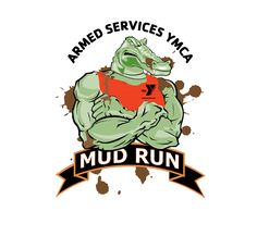 Tattoo swag for the Armed Services YMCA Mud Run in