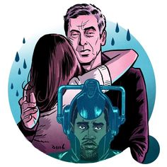 """""""Doctor Who - Death In Heaven ☔️ """"Never trust a hug, it's just a way to hide your face"""" #DoctorWho #DoctorWhoFinale"""""""