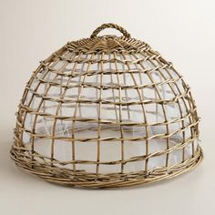 One of my favorite discoveries at WorldMarket.com: Willow Food Dome