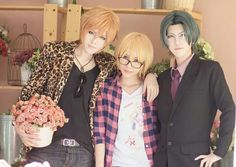 Izumi, Shougo, and Rei cosplay (Love Stage) Cosplay Boy, Casual Cosplay, Cosplay Outfits, Cosplay Costumes, Anime Cosplay, Yuri, Best Cosplay Ever, Snow White With The Red Hair, Love Stage