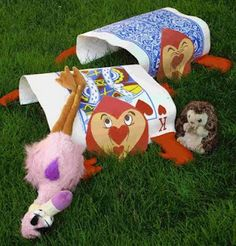 Kims Kandy Kreations: Alice in Wonderland Croquet on a Cheapskate's Budget