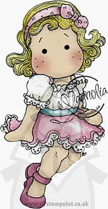 Magnolia - Apple and Cherries - Cutie Circus Tilda