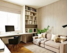 home office idea. built in desk. pull out couch for guest. like color scheme too home office idea. built in desk. pull out couch for guest. like color scheme too – Mesa Home Office, Home Office Space, Home Office Design, Home Office Decor, Home Design, Home Decor, Office Ideas, Design Ideas, Office Setup