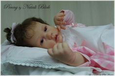 "NEW Reborn Baby GIRL Penny by Natali Blick  "" sweet baby """