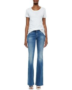 The+Marrakech+Faded+Flared+Jeans+by+MiH+at+Neiman+Marcus.
