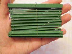 Tutorial persiana - mariniminis - Picasa Web Albums how to make a blind
