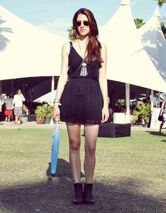 H & M Style at Coachella.