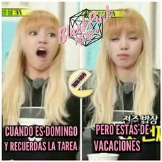 Read 41 from the story Memes De BlackPink. Blackpink Funny, Funny Faces, Blackpink Lisa, Kpop, Memes Blackpink, Funny Stories, Humor, Wattpad, Laughing