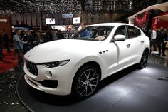The Maserati Levante is the Italian brand's first foray into the SUV segment. It's a large SUV that's going after the Range Rover Sport, Porsche Cayenne and the forthcoming Jaguar F-Pace, and was revealed at the Geneva motor show.