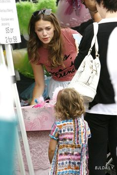 Bethany Joy Lenz-- freaking because Rydel has this shirt and wore it at the Paris show last year lol