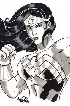 Wonder Woman sketch by ~Kid-Liger