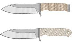 Knife Shapes, Knife Template, Knife Patterns, Diy Knife, Belt Grinder, Custom Knives, Knives And Swords, Knife Making, Blacksmithing